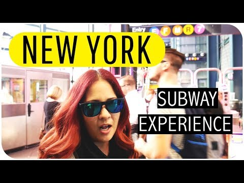 HOW TO RIDE THE NEW YORK SUBWAY/ NEW YORK SERIES VLOG 1