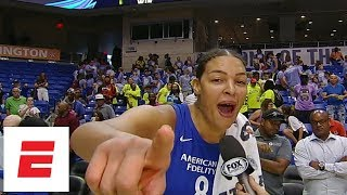 Liz Cambage sets WNBA record with 53-point game [highlights, interview] | ESPN