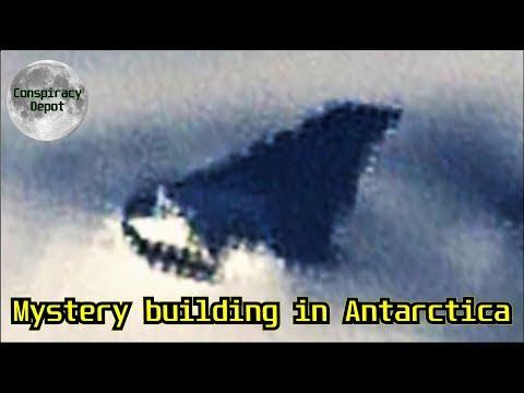 Цивилизация в Антарктиде: на спутниковых фото увидели пирамиду подо льдом (2 фото + видео)