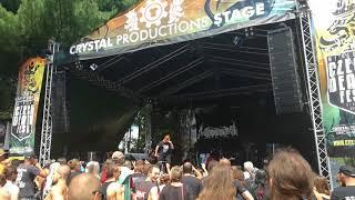 Murderline live at MetalGate Czech Death fest