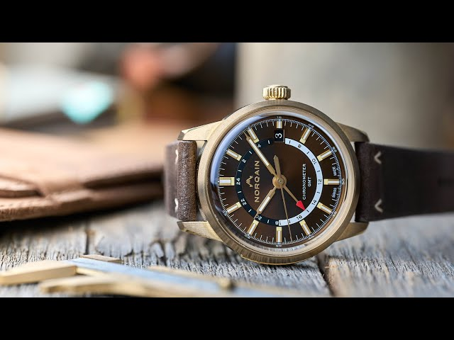 Norqain Freedom 60 GMT Video Review - Watch Clicker