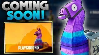 Fortnite PLAYGROUND Mode! | UPDATED Details! | Fortnite Private Matches!? | Fortnite Battle Royale
