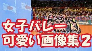 【リオ五輪】女子バレー 日本代表 メンバーの可愛い画像集2 Women Volleyball Player
