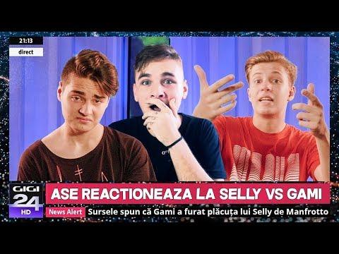 REACTIONEZ LA SELLY VS. GAMI - RAP BATTLE (Official Video)