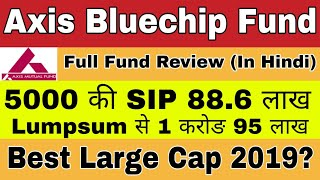Axis Bluechip Mutual Fund Review in Hindi | Best Large Cap Mutual Fund | Should You in in Bluechip