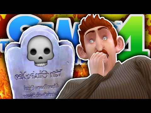 SHE DIED?! NOOOO! - The Sims 4 - #19 - (Sims 4 Dine Out Funny Moments)
