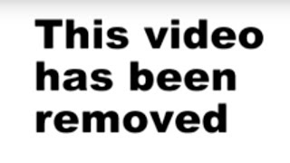 This video has been removed
