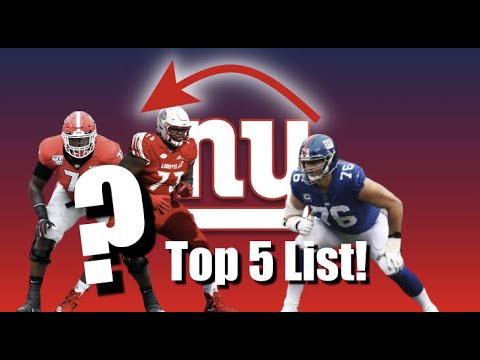 GIANTS DRAFT: Which OT We SHOULD Draft In 2020! (215)