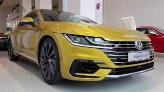 VW Arteon R-LINE der Neue Volkswagen innen und außen + dynamische Blinker Volkswagen Arteon Teil 1