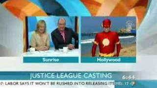 George Miller Casting Justice League Movie Nelson as Flash?