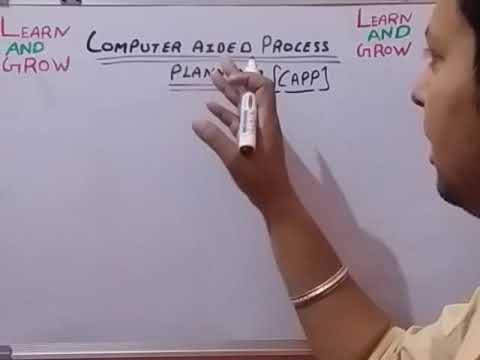Computer Aided Process Planning (Capp) (हिन्दी )