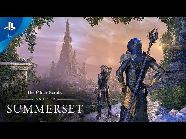 The Elder Scrolls Online: Summerset - Gameplay Launch (4K) | PS4
