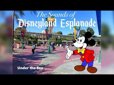Disneyland Esplanade Music Loop