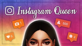 The Sims 4: CAS // Instagram Queen (Collab w/ Poul Simmer) + Full CC List