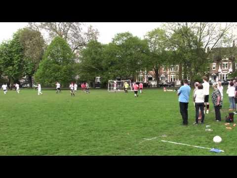 The Eagle v Nightingale 2nd Goal. Richard Knight