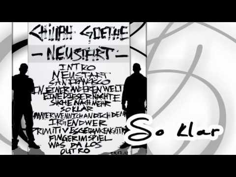 Chillah & Goethe - So klar (NEUSTART)