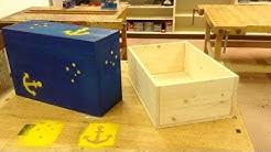 Holzkiste bauen - Eine einfach Kiste aus Holz selbst herstellen