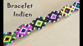 DIY : Indian friendship bracelet (advanced level)