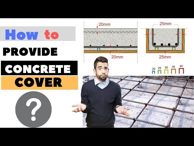 What is Reinforcement Cover? How to Provide Cover to Reinforcement.