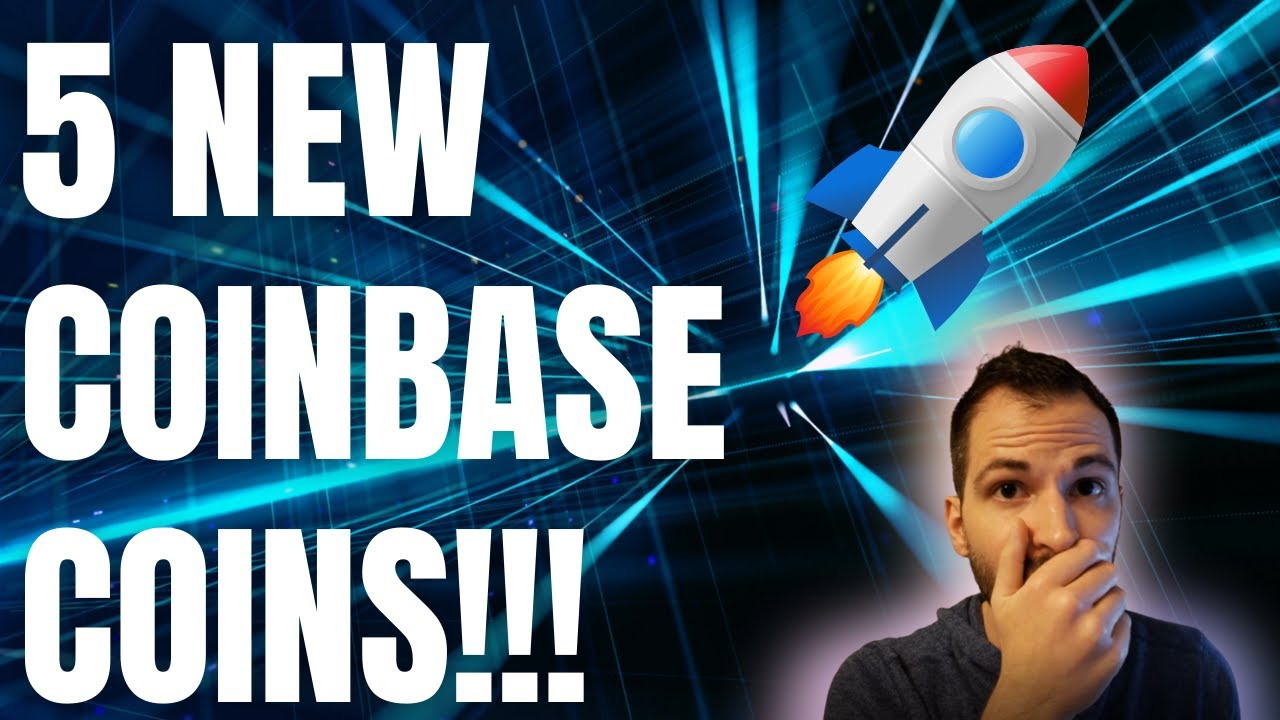 *BREAKING* NEW COINBASE COINS (5 NEW ALTCOINS!!!)