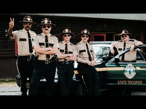 SUPER TROOPERS 2 - Official Teaser - Shave The Date: 4.20.18