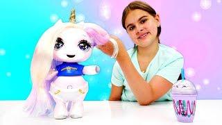 Видео с игрушками - Единорожка Пупси (Poopsie) идет на пикник - Мультики для девочек