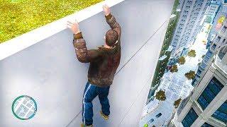 GTA IV Pakour Fails - Funny Moments