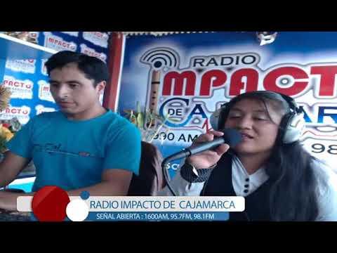 MALVINITA MENDOZA..EN RADIO IMPACTO DE CAJAMARCA