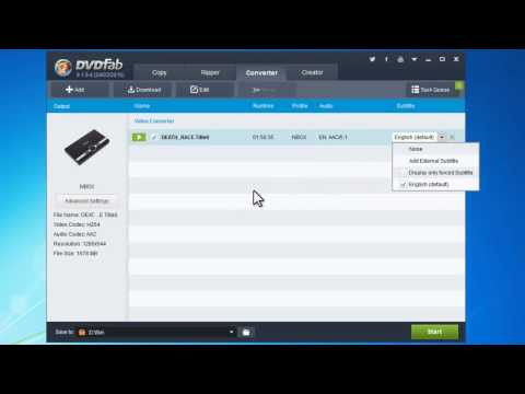 How to convert video to TV Box with DVDFab?