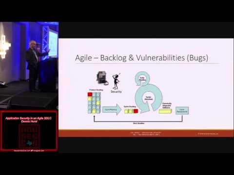 t101 Application Security in an Agile SDLC Dennis Hurst