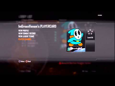 How to STEAL/COPY Someone's Emblem on Black Ops 2 & Edit it! [Xbox & PS3]