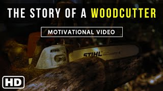 THE STORY OF A WOODCUTTER - Motivational Video in English  Rat Race  Alarm  A Short Film Story