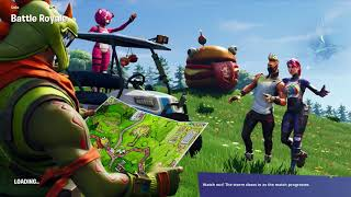 Free tier found and all the basket ball rings found. Fortnite Battle Royale