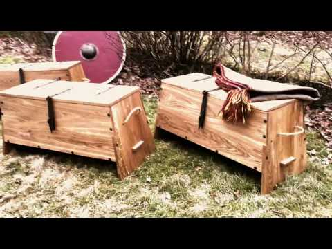 Making a viking chest in four minutes