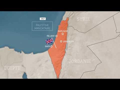 Origines Du Conflit Israélo-palestinien / Infographies / Lumni / Geopoliticus / 2018