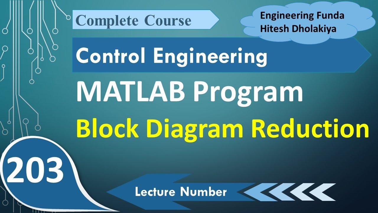 Block Diagram Reduction Using Matlab