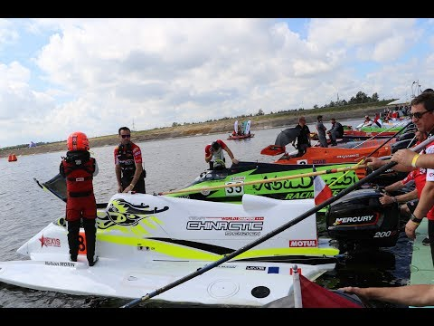 AbuDhabi Powerboat Team In UIM F2 Lithuania Grand Prix Kaunas 2017