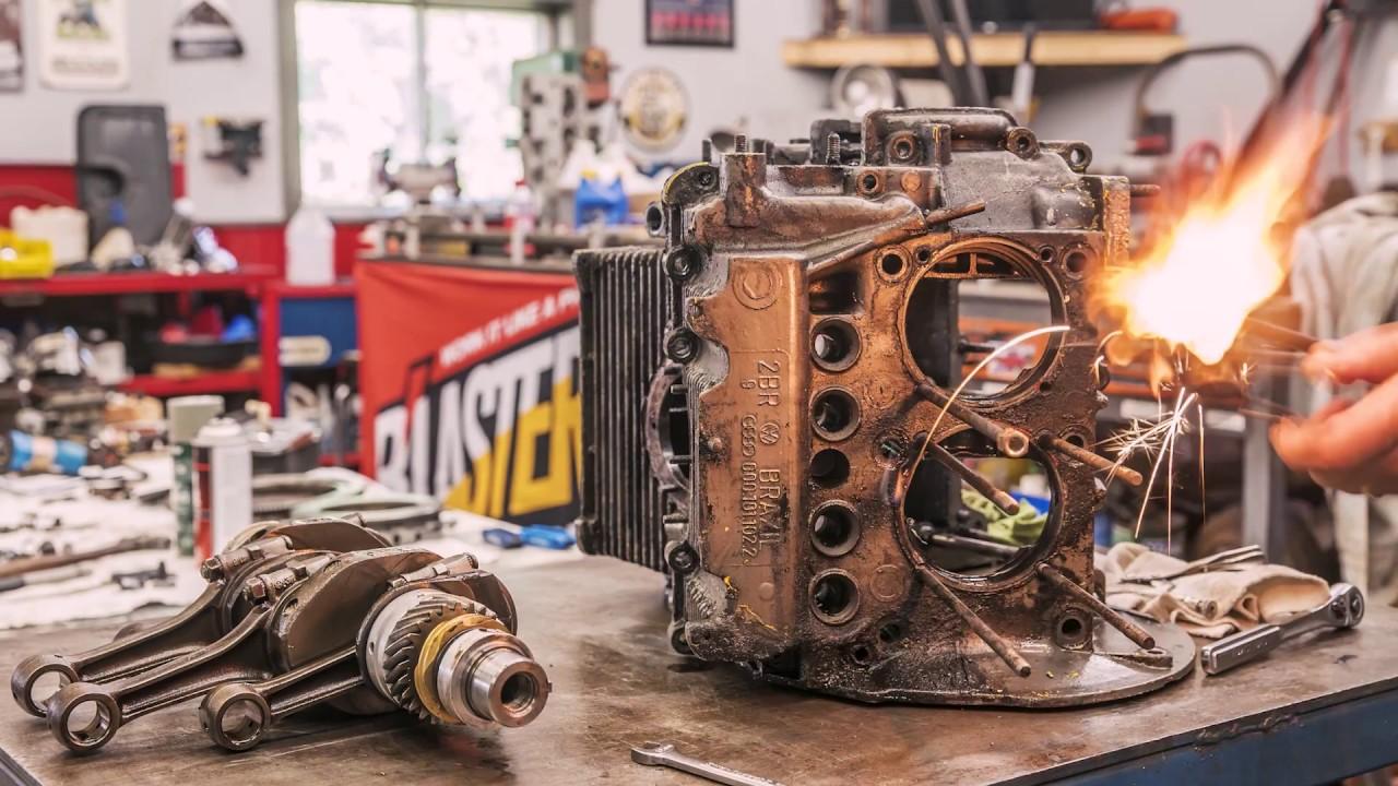 medium resolution of how we rebuilt our vw beetle engine redline rebuilds explained s1e4
