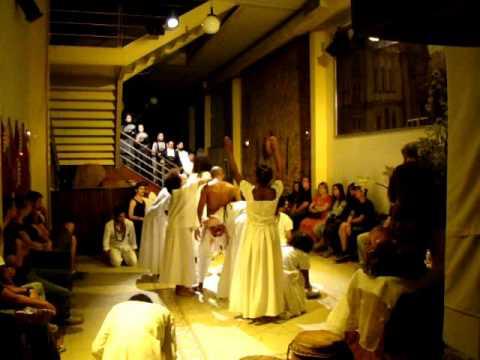 Escrava Anastácia Teatro de Nossa Senhora do Teatro 2011 parte1