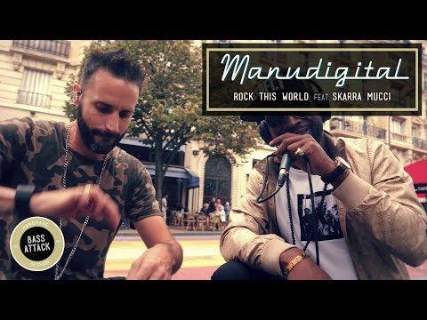 MANUDIGITAL Ft. Skarra Mucci - Rock This World (Official Video)