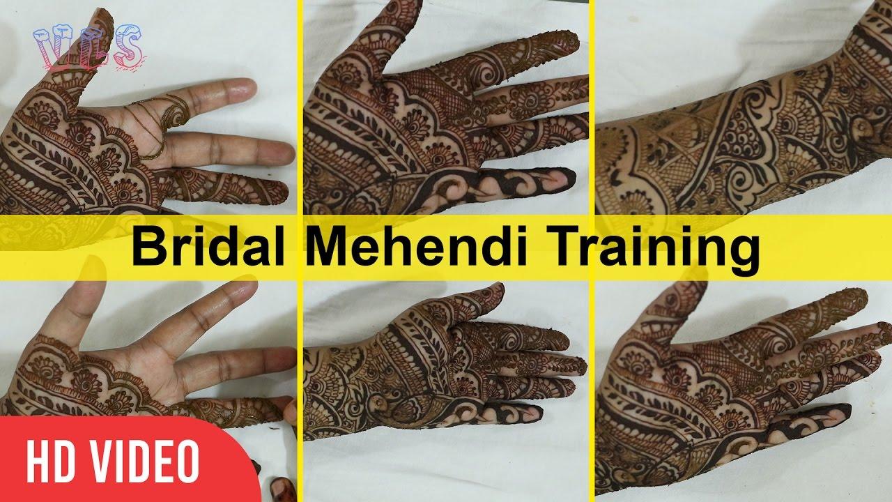 Bridal Mehndi Training : Elephant peacock birdal mehndi design wedding special