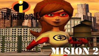 Los Increibles (GAMEPLAY) (ESPAÑOL) - Mision 2: Por los tejados