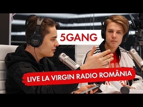 5GANG -  LIVE @Virgin Radio Romania