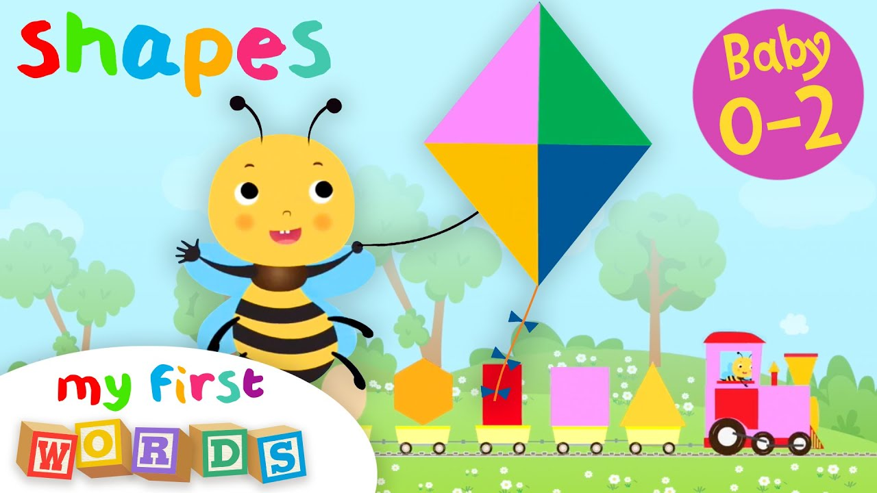 My First Words #5 | Shapes | Educational Series for Babies 0-2