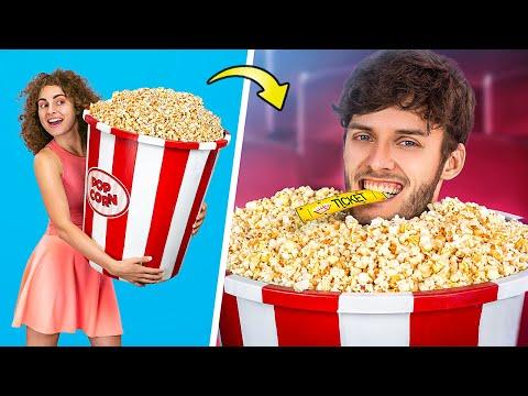 Как провести друзей в кино