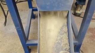 Gold33.com: Gold Ore Impact Mill Cyclone Dust Collector Test