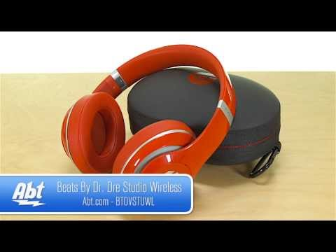 Beats By Dr. Dre Studio Wireless Headphone Features