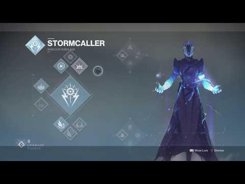 Destinewb. Destiny 2 Warlock Stormcaller subclass test
