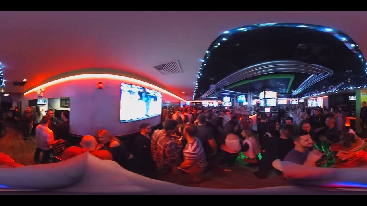 360 Degree Video of The Park Tap & Grill Hazlet, NJ - Christmas Party -  Friday Night - 12/25/15
