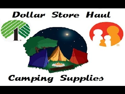 Dollar Store Haul CAMPING MUST HAVE SUPPLIES!